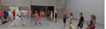 Karateles groep 5 t/m 8